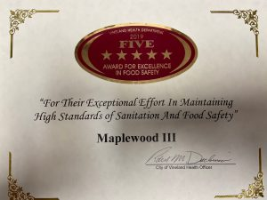 Maplewood III Italian Restaurant of Vineland New Jersey
